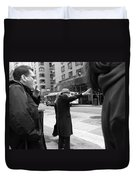 New York Street Photography 16 Duvet Cover