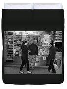 New York Street Photography 18 Duvet Cover