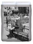 New York Street Photography 2 Duvet Cover