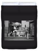 New York Street Photography 6 Duvet Cover by Frank Romeo