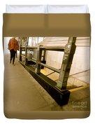 New York Subway Duvet Cover
