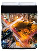 New York Traffic Duvet Cover