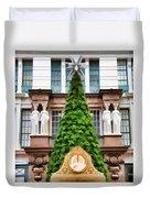 New York Tree Duvet Cover