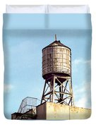 New York Water Tower 1 - New York Scenes  Duvet Cover