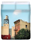 New York Water Tower 3 Duvet Cover