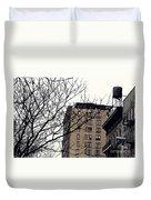 New York Winter Day Duvet Cover