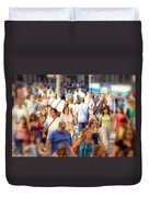 New Yorkers Duvet Cover