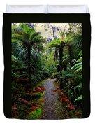 New Zealand Rainforest Duvet Cover