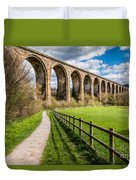 Newbridge Rail Viaduct Duvet Cover