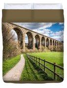 Newbridge Viaduct Duvet Cover