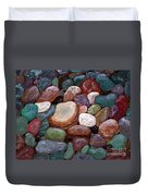 Newfoundland Beach Rocks 2  Duvet Cover