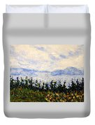 Newfoundland Up The West Coast Duvet Cover