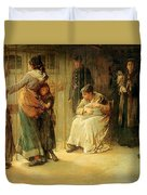 Newgate Committed For Trial, 1878 Duvet Cover