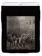Newgate Prison Exercise Yard Duvet Cover