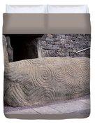 Newgrange Entrance Kerb Duvet Cover