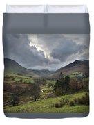Newlands Valley Lake District National Park Duvet Cover