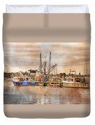 Newport Rhode Island Harbor II Duvet Cover