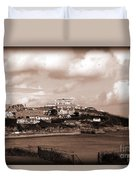 Newquay In Cornwall Duvet Cover