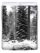 Next Season Christmas Trees Duvet Cover