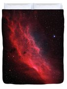 Ngc 1499, The California Nebula Duvet Cover