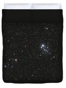 Ngc 457, The Owl Cluster Duvet Cover