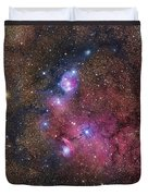 Ngc 6559 Emission And Reflection Duvet Cover
