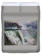 Niagara American Falls 2 Duvet Cover