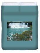 Niagara - American Falls In Spring Duvet Cover