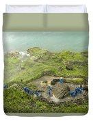 Niagara Falls Four Duvet Cover