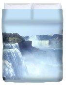 Niagara Falls - New York Duvet Cover by Mike McGlothlen