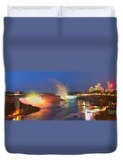 Niagara Falls Ultra Wide Panorama Duvet Cover