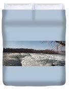 Niagara Rapids Duvet Cover