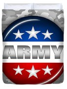 Nice Army Shield 2 Duvet Cover