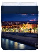 Nice By Night Duvet Cover