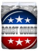 Nice Coast Guard Shield 2 Duvet Cover