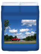 Nice Day For A Drive Duvet Cover