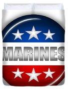 Nice Marines Shield Duvet Cover