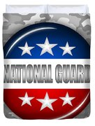 Nice National Guard Shield 2 Duvet Cover by Pamela Johnson