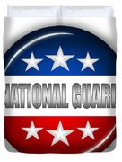 Nice National Guard Shield Duvet Cover