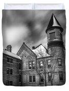 Nicolet School In Black And White Duvet Cover