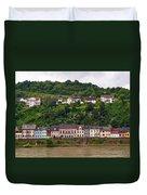 Niederheimsbach Am Rhein Duvet Cover