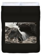 Nigel Creek Waterfall Detail Duvet Cover