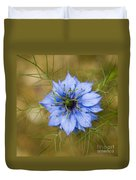 Nigella Damascena Duvet Cover