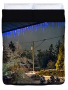 Night After The Ice Storm Duvet Cover