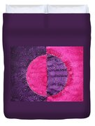 Night And Day Original Painting Duvet Cover