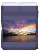 Night Approaches Duvet Cover