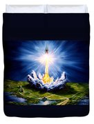 Night At The Cape Duvet Cover