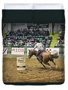 Night At The Rodeo V25 Duvet Cover