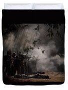 Night Battle Duvet Cover