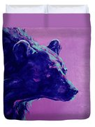 Night Bear Duvet Cover